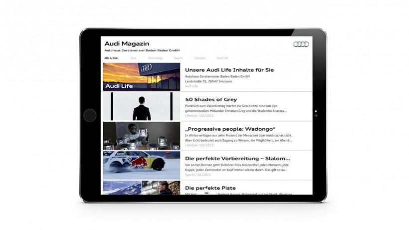 Audi Magazin