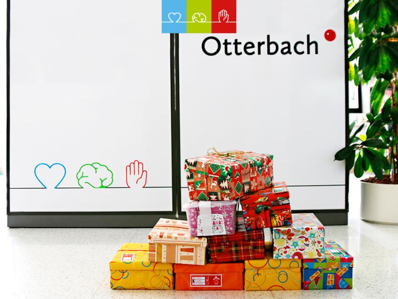 """Otterbach macht mit bei """"Weihnachten im Schuhkarton""""!"""
