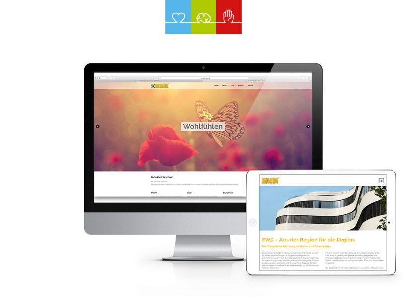 2 neue Webseiten für EWG