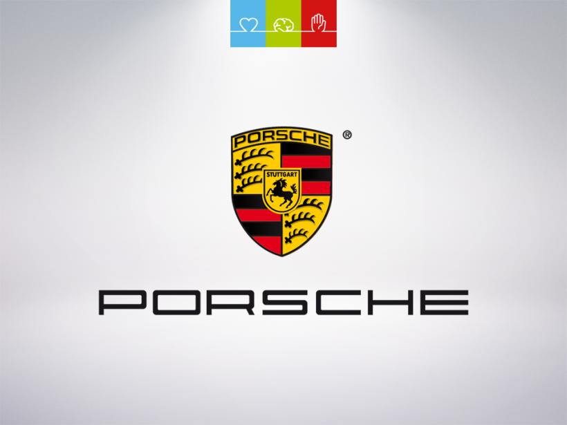 Rasante Retusche – Porsche fährt bei Otterbach vor.